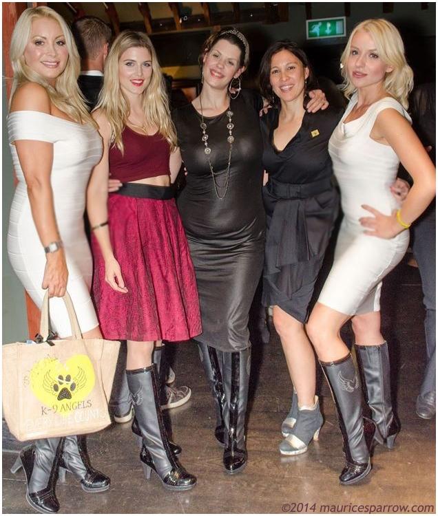 Alicia, K9 Angels, Fifi Geldolf & Ashley James A