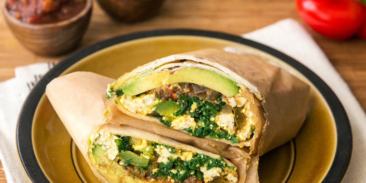 Breakfast Burrito From Greens 24 7