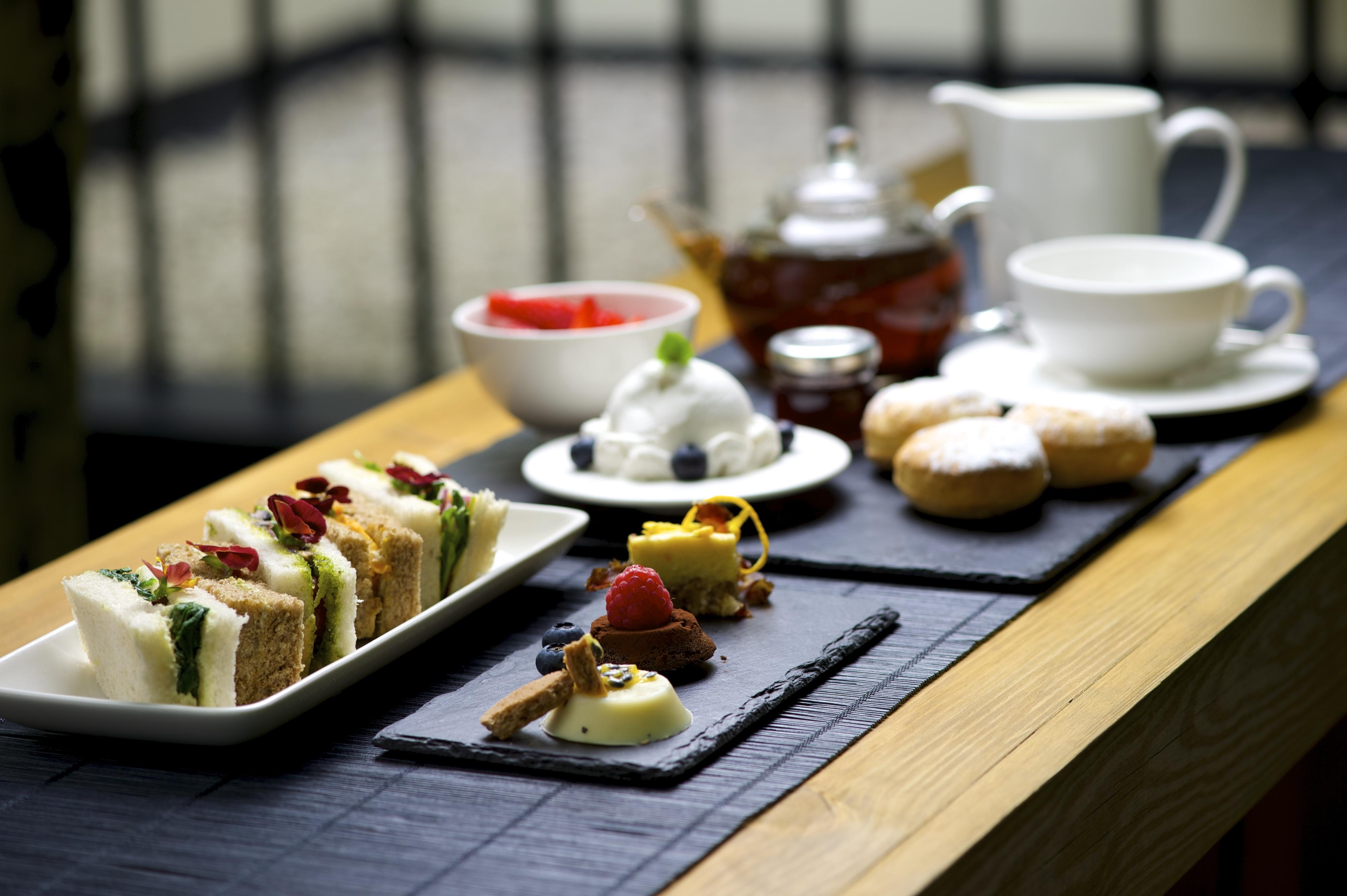 Vegan Afternoon Tea atLa Suite West