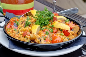 The Marina Café and Bistro – Best Vegan Paella!