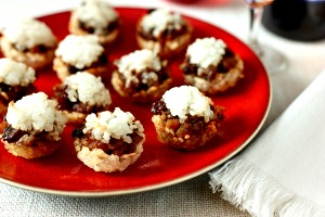 Sushi Mince Pies Wheat free, Gluten free and Vegan!
