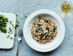 Antonio Carluccio's Risotto with Mushrooms