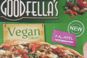We Try  Goodfellas NEW VEGAN Falafel Stonebaked Pizza