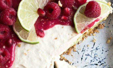 Lemon Tofu Cheesecake