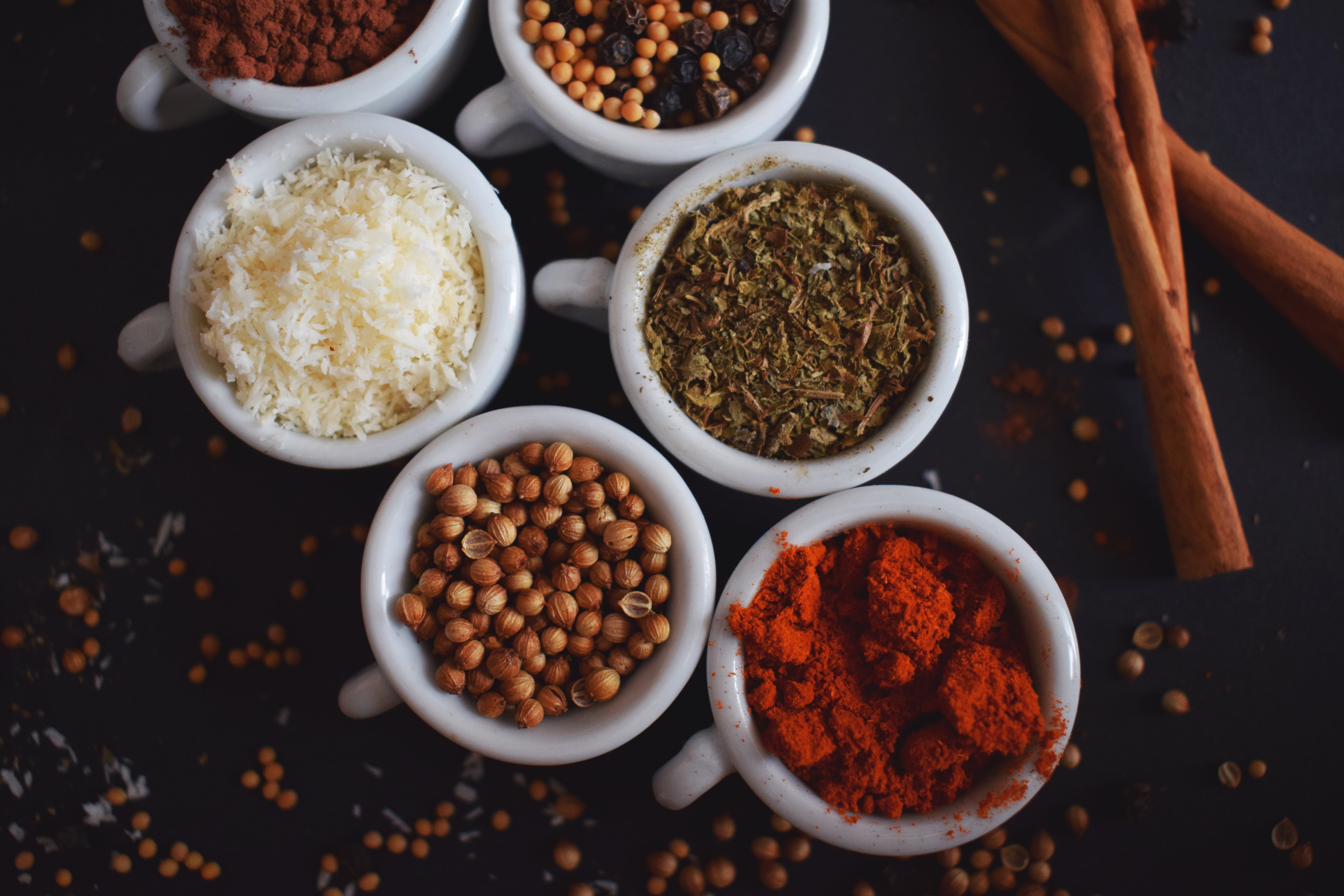 Herbs And Spices For Health And To Spice Up Vegan Cooking