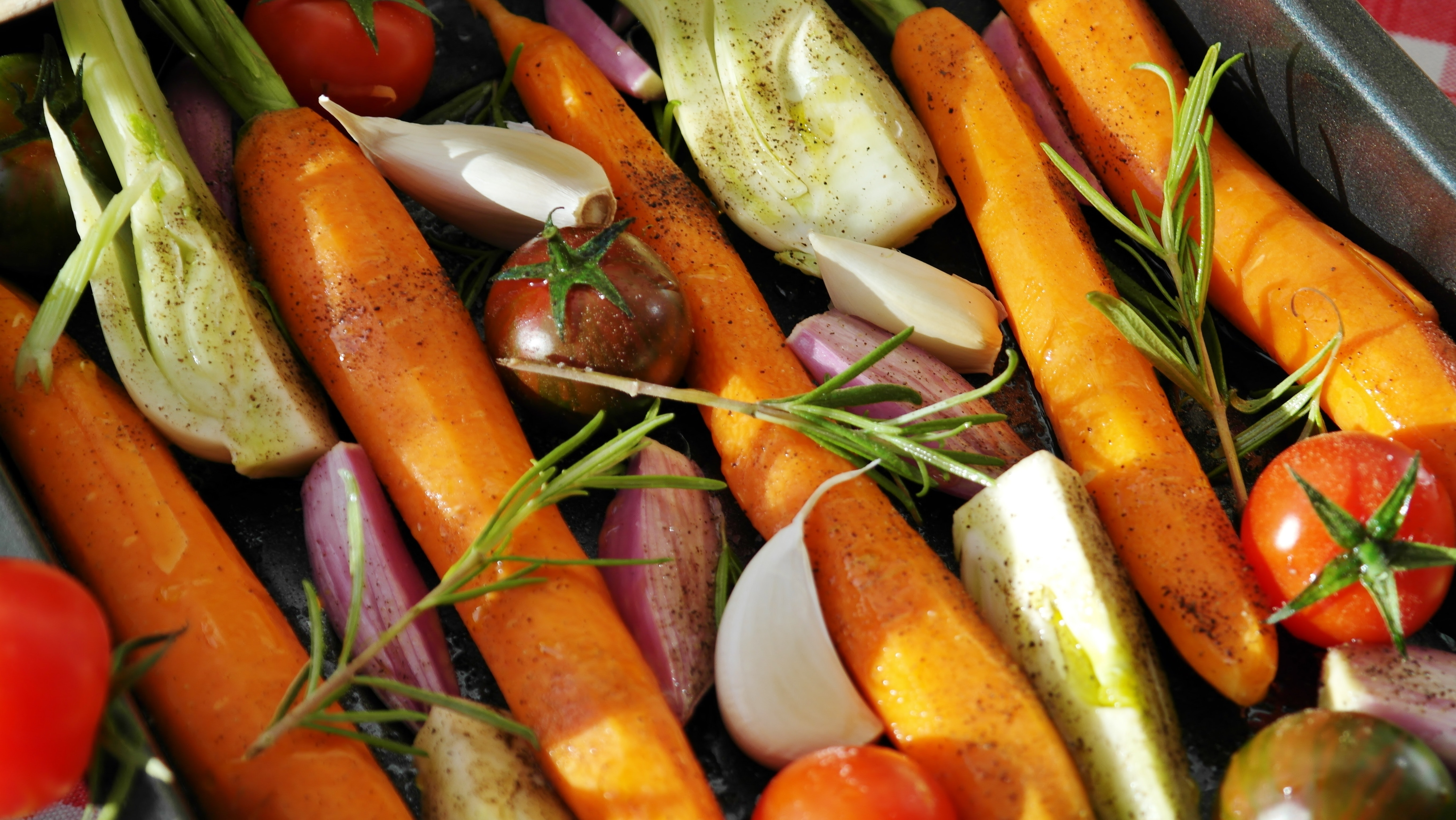 Easy Herby Roasted Vegetables