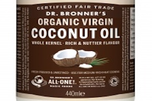 Kelly Marie Darcy reports for VeggieVision TV – Dr Bronner's Whole Kernel Virgin Coconut Oil