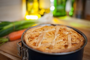 Vegetable Pot Pie That's Bursting With Vegetables!