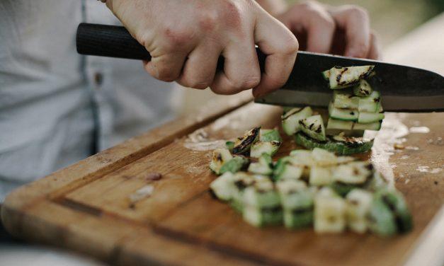Italian Vegan Summer Squash Polenta Bake