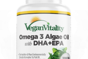 New Affordable Vegan Omega 3 Algae Oil from Vegan Vitality