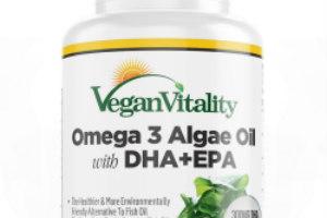 New Affordable Vegan Omega 3 Algae Oil from Vegan Vitality