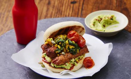 Linda McCartney & Avant-Garde Vegan 'The Morning Avo' Breakfast Muffin Recipe