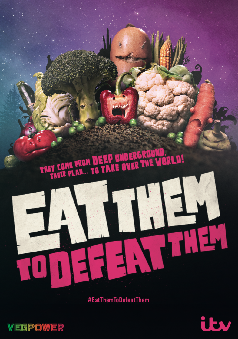 Major New Ad Campaign From VEG POWER and ITV