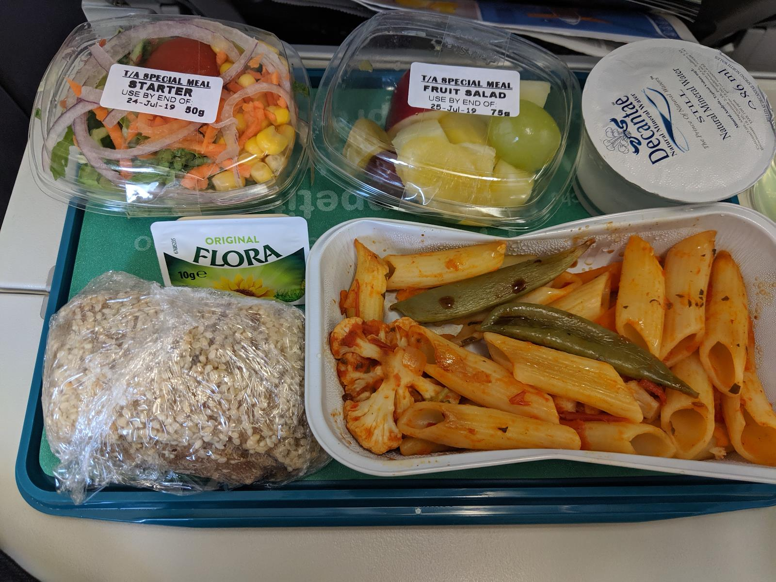 Vegan meal in-flight fails – campaigners call on airlines to better cater for vegans