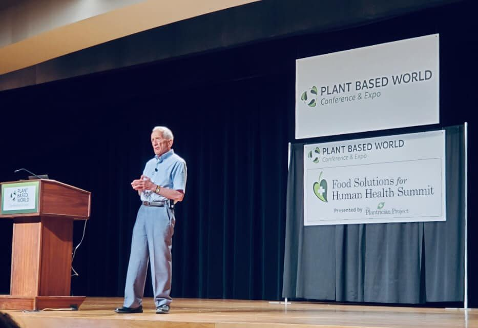 Dr. T. Colin Campbell Chats with VeggieVision TV About the Plant Based Milk Debate