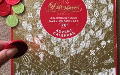 Fairtrade Divine Chocolate – Presenting a Wonderful Vegan Advent Calendar
