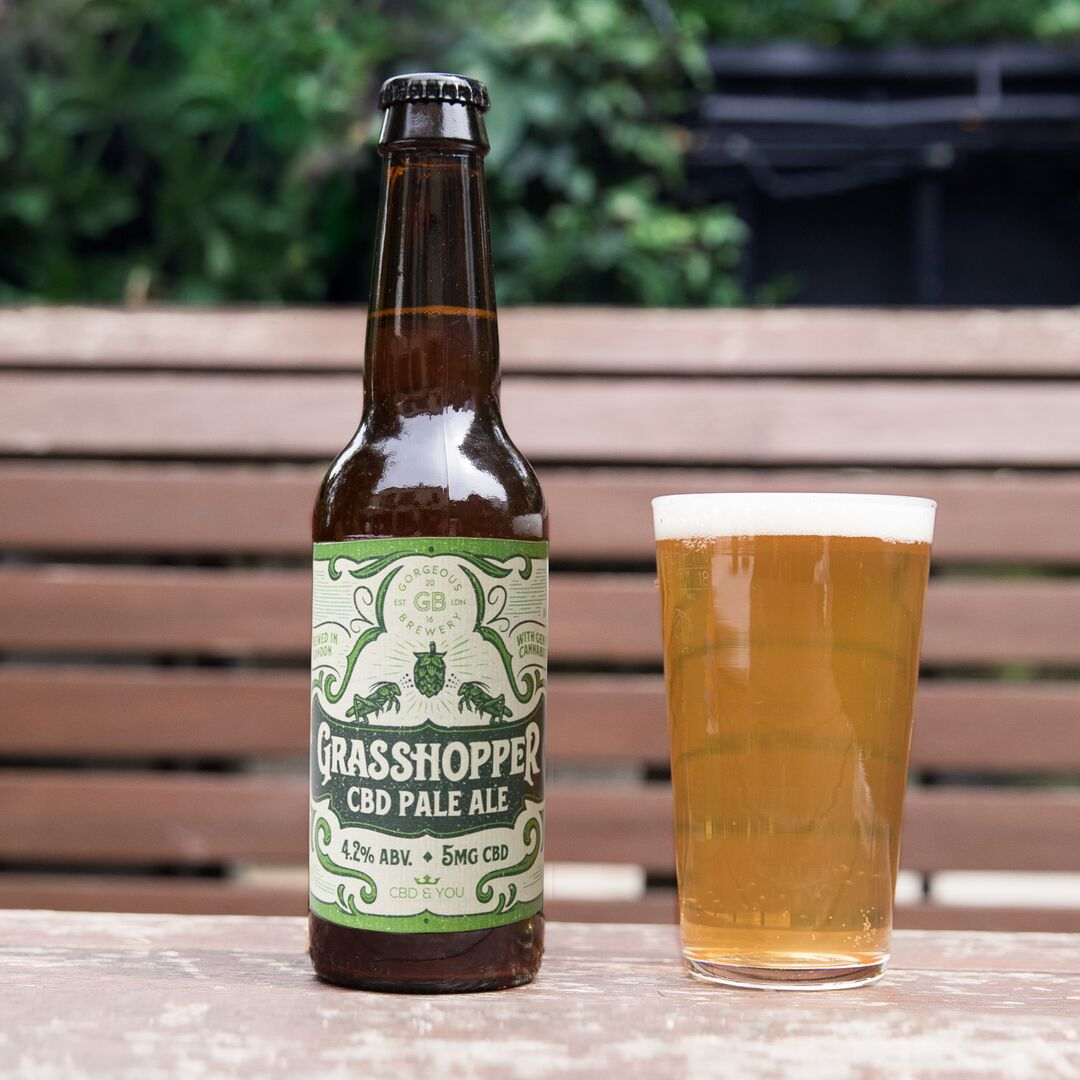 GORGEOUS BREWERY LAUNCH THEIR NEW VEGAN CBD BEER