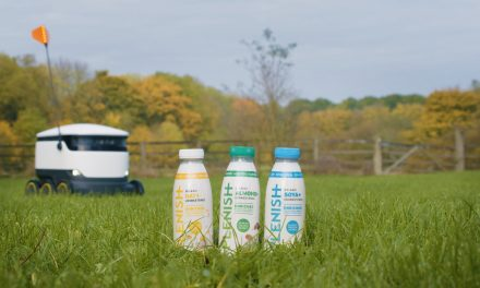 THE ROBOTS ARE COMING…TO DELIVER YOUR VEGAN MILK!