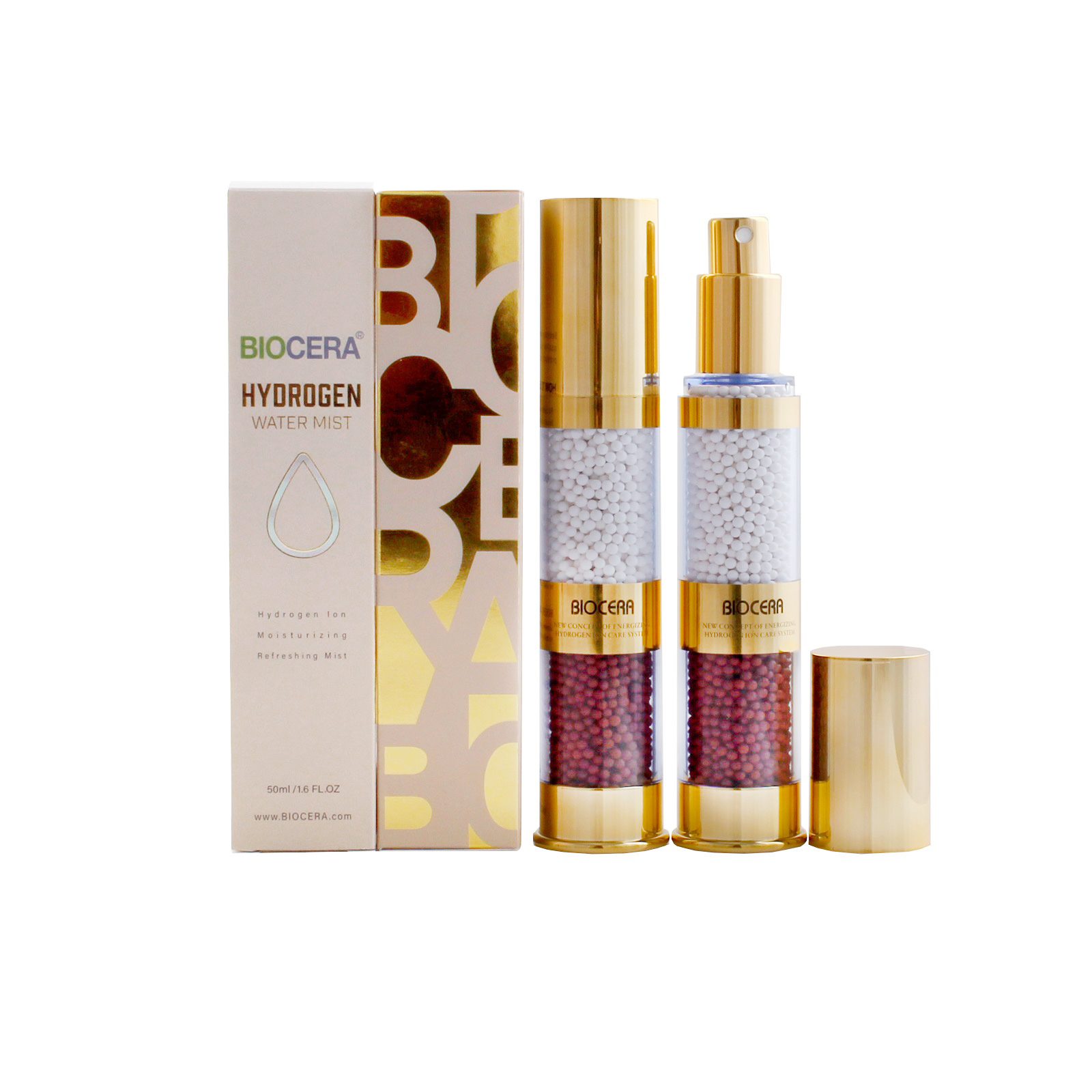 The Biocera Hydrogen Water Mist…A Natural Way To Moisturise