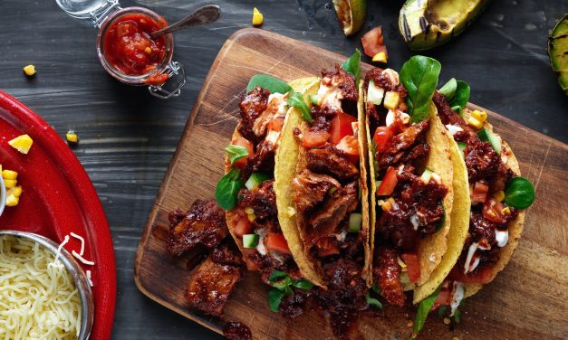 Meat Free Meaty Tacos