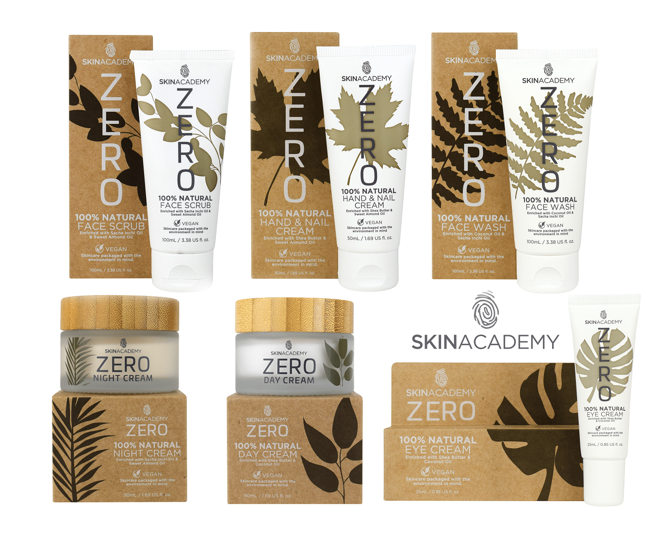 SkinAcademy…Conserving The Environment And Your Skin With Their Zero Range