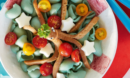 Sea Octopus Pasta with Funky Seaweed