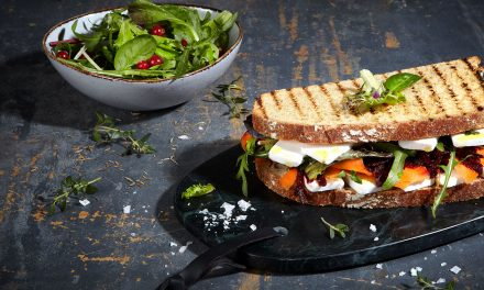 How To Make The Perfect Vegan Mediterranean Sandwich