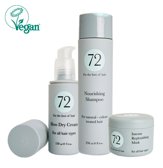 72hair Vegan collection