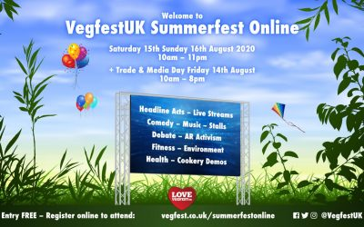 VegfestUK Goes Online With A FREE Summer Special