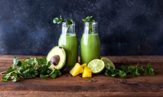 Watercress, Avocado & Lime Smoothie