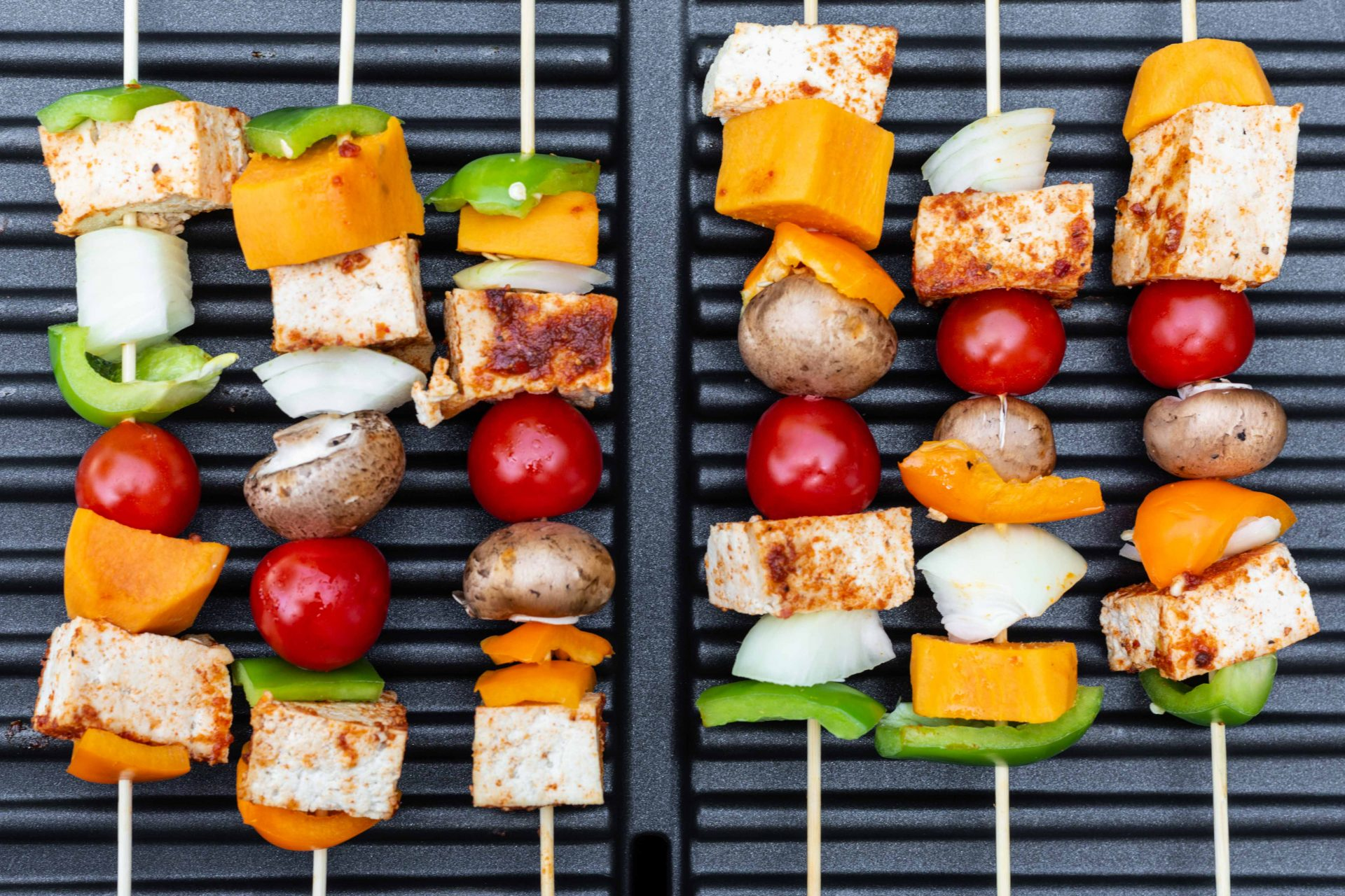 Veggie and Fruity Kebabs With A Twist