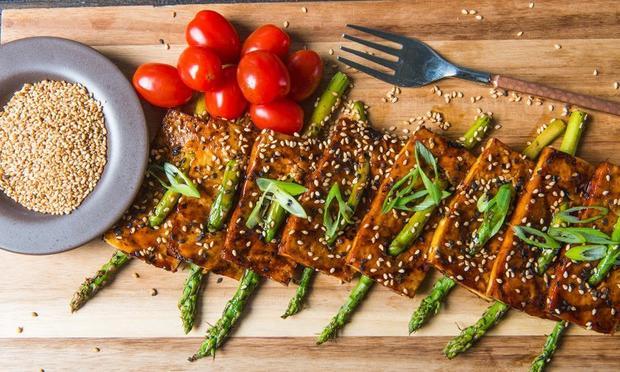 Traeger Grilled Tofu