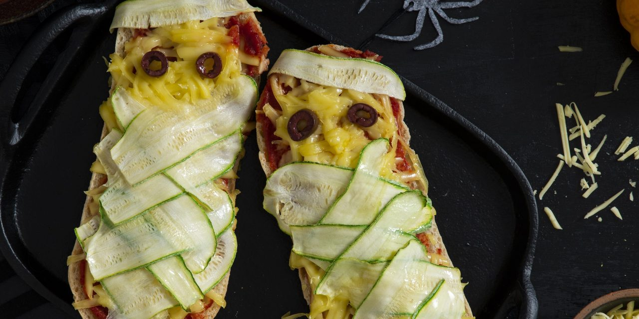 Spooky Halloween Sandwich