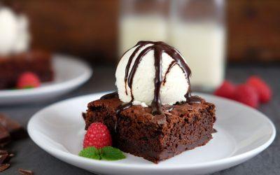 Vegan Beetroot Chocolate Brownies