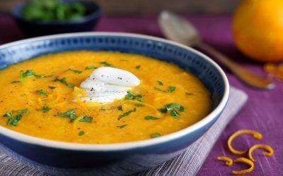 Carrot, Ginger & Orange Soup