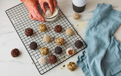 Vegan Horlicks Power-packed Energy Balls