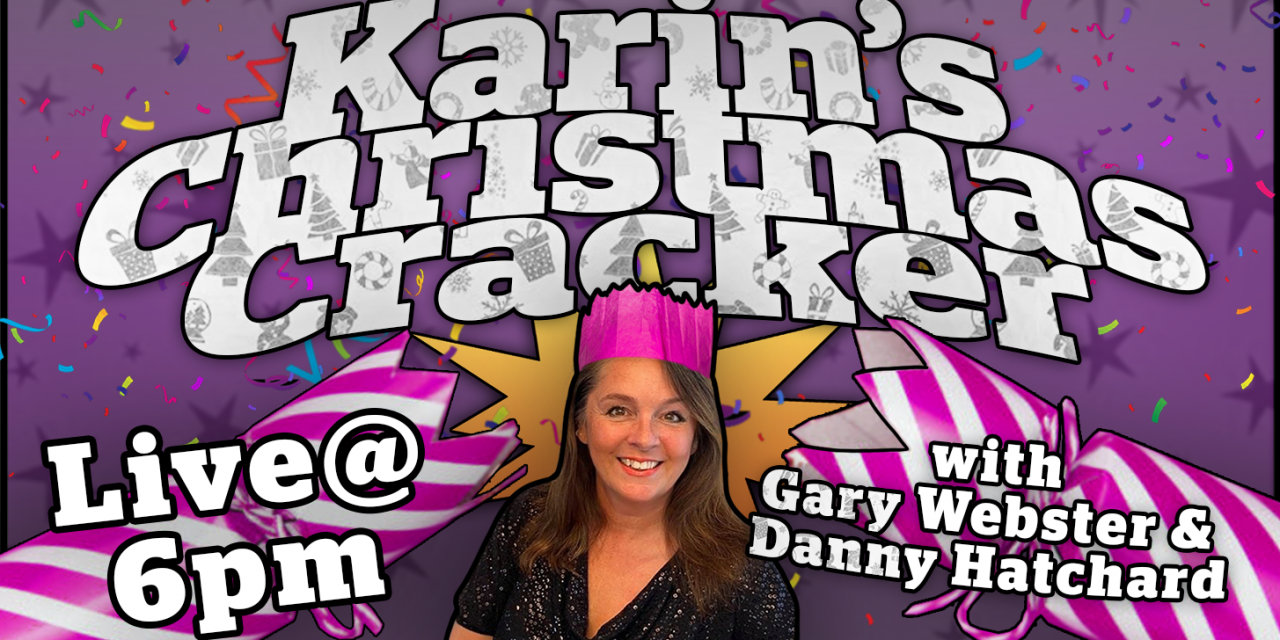 Karins Christmas Cracker With Passionate Vegan Actors Danny Hatchard and Gary Webster