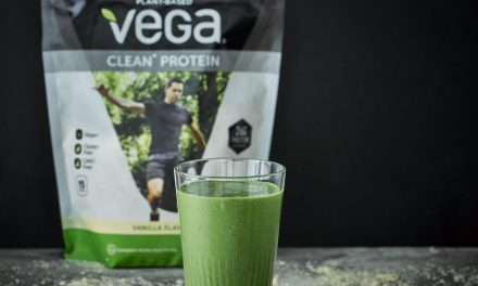 Spinach And Vanilla Protein Smoothie