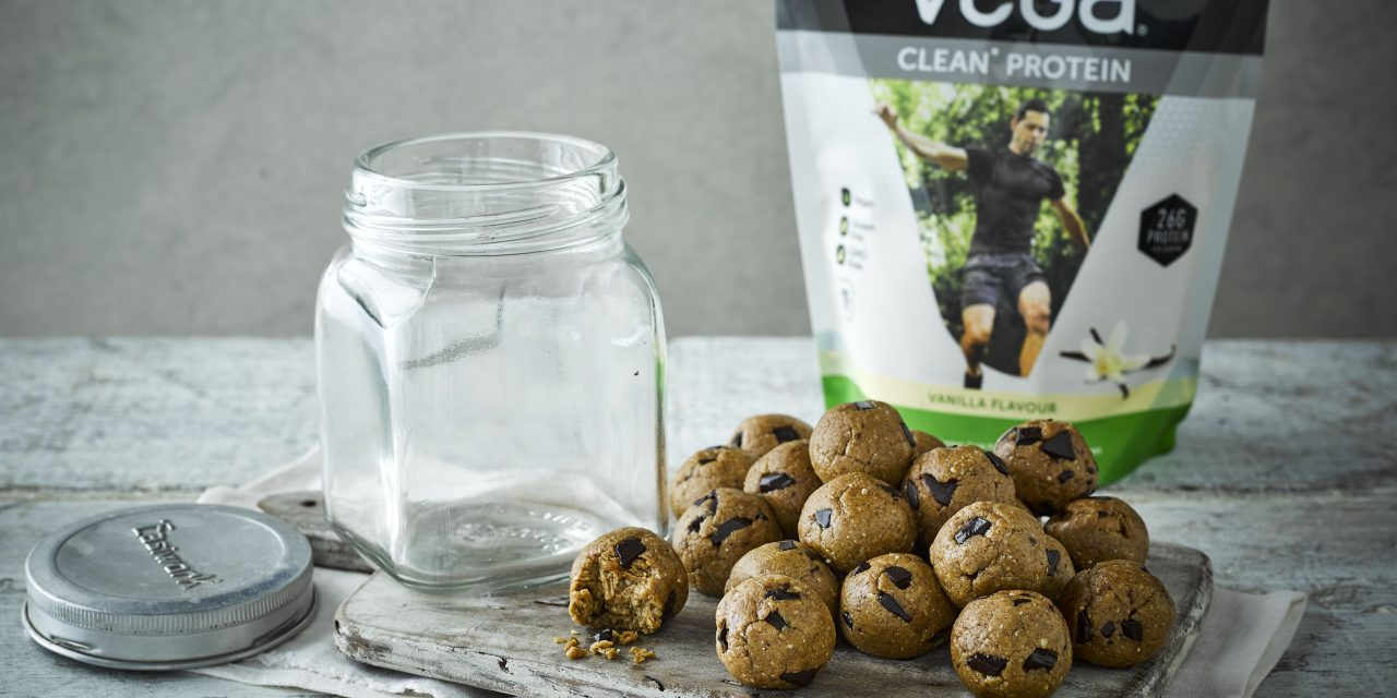 Vegan Cookie Dough Energy Balls