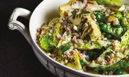 Artichoke & Pearled Spelt Salad