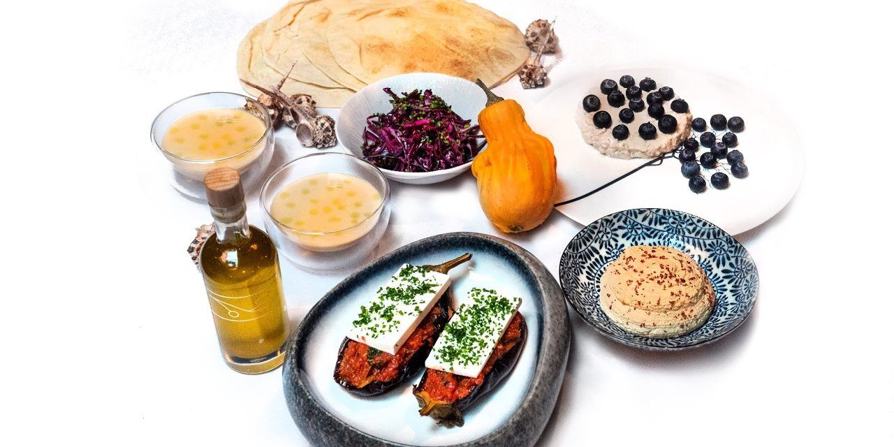 The Vegan Feast Delivered from Michelin-starred Restaurant Pied à Terre
