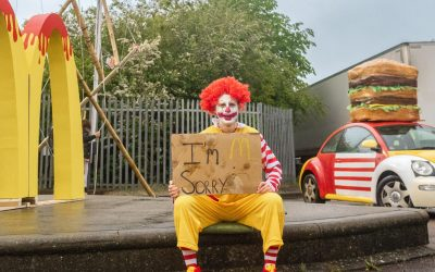 UPDATE: McDonald's Branches Forced to Close After Animal Rebellion Blockade Action