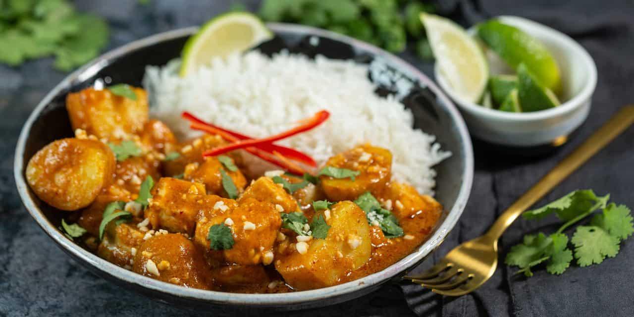New Potato & Tofu Massaman Curry