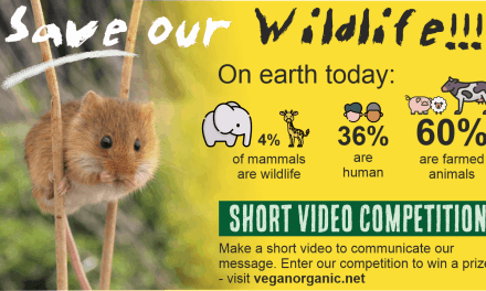 Saving Our Wildlife: An Exciting New Competition from The Vegan Organic Network