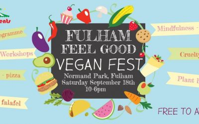 Free Vegan Festival in Fulham Saturday 18th September!